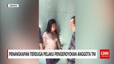 Penangkapan Dua Terduga Pelaku Pengeroyokan Anggota TNI
