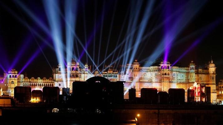 Saat Crazy Rich India Gelar Pesta Pernikahan Sang Putri