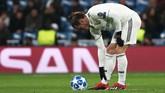 Tampilnya Gareth Bale di babak kedua tidak membantu Real Madrid untuk mencetak gol balasan atau menyamakan kedudukan. Bale masuk ke lapangan pada menit ke-46 menggantikan Karim Benzema. (REUTERS/Sergio Perez)