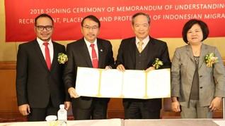 Indonesia-Taiwan Komitmen Lindungi Pekerja Migran