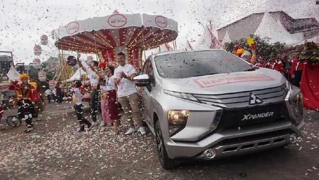 Tutup 'Arena Bermain', Mitsubishi Sedot Ribuan SPK Xpander