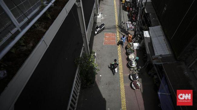 Pemkot Jakpus Klaim JPM Tanah Abang Steril dari Pejalan Kaki