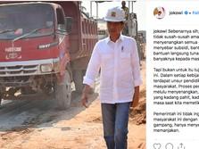 Disindir Bangun Infrastruktur Pakai Utang, Ini Curhat Jokowi