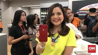 Tasya Kamila Kepergok Ikut Antre Beli iPhone XR