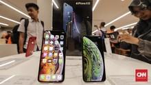 FOTO: Suasana Penjualan Perdana Trio iPhone Baru di Jakarta