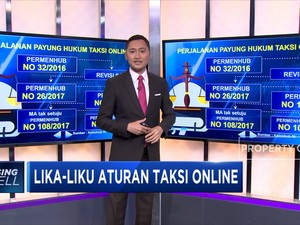 Lika Liku Aturan Taksi Online