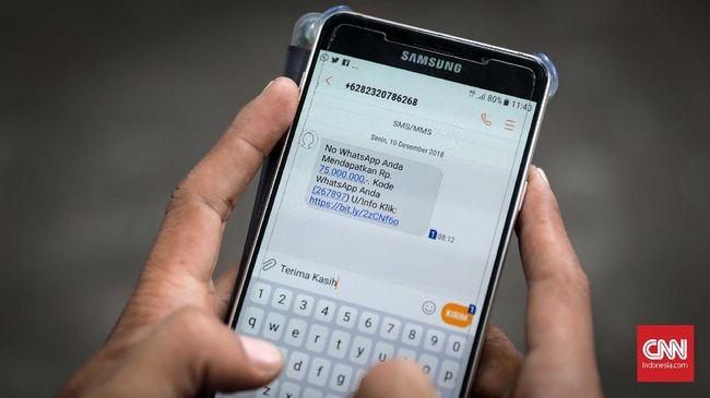 Penipuan Modus Poin Telkomsel, Korban Rugi Rp50 Juta