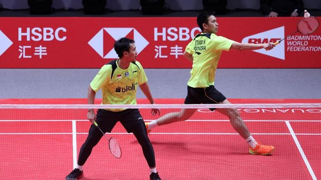 Ahsan/Hendra Gagal Lolos ke Semifinal BWF World Tour Finals