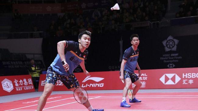 Kevin/Marcus ke Semifinal Malaysia Masters 2019