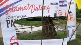 Bendera Sambutan di Pekanbaru Dirusak, SBY Mengadu ke Allah