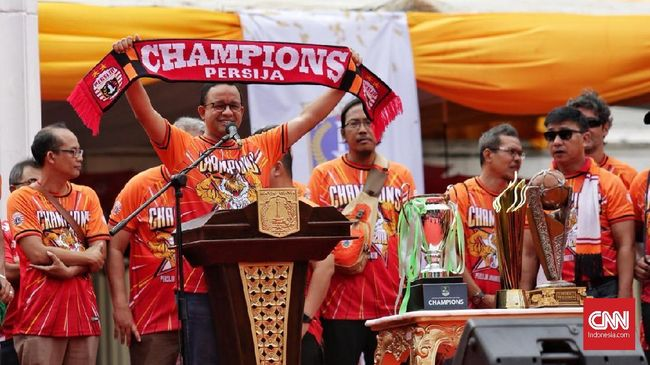 Anies Janji Ajak The Jak Mania Groundbreaking Stadion