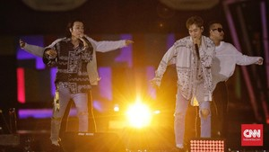 Kala Donghae-Eunhyuk 'SUJU' Kenalkan Diri sebagai Dimas-Eko