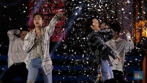 Aksi Super Junior D&E Pukau Para ELF di Sweet 17 TRANSMEDIA