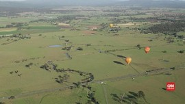 VIDEO: Wisata Balon Udara di Langit Queensland