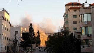 Israel Hancurkan Rumah Warga Palestina Terduga Pembunuh