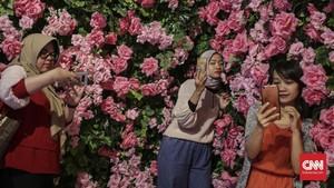 FOTO: Pameran Pelepas 'Dahaga' Kaum Selfie