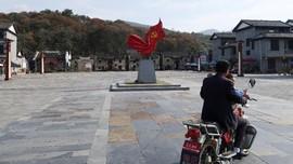 FOTO: Pembangunan Desa Miskin di China Berbuah Tumpukan Utang