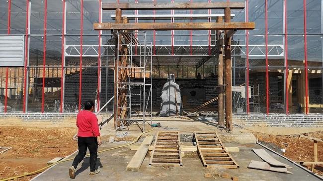Rucheng tidak sendirian. Ada ratusan kabupaten lainnya di China yang juga terjerat utang karena gencarnya pembangunan yang dilakukan pemerintah daerah setempat. (REUTERS/Shu Zhang).