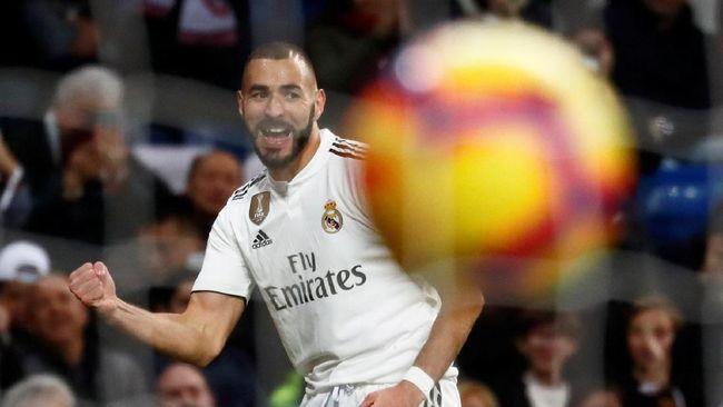 Benzema Tentukan Kemenangan Madrid Atas Rayo Vallecano