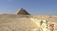 VIDEO: Mesir Temukan Makam Kuno Unik Berusia 4.400 Tahun