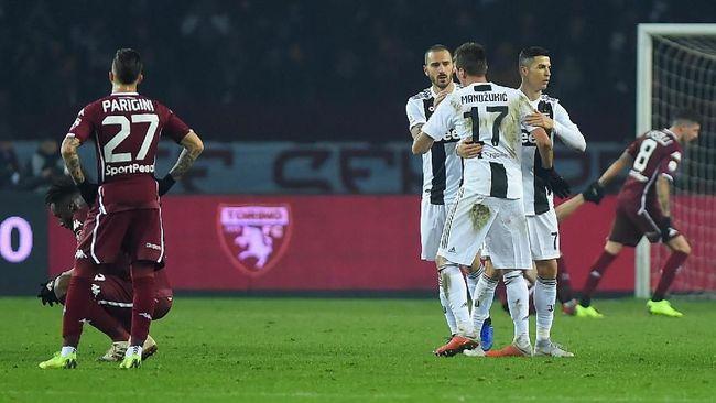 Selebrasi Aneh Ronaldo di Juve, Adu Dada dengan Kiper Torino