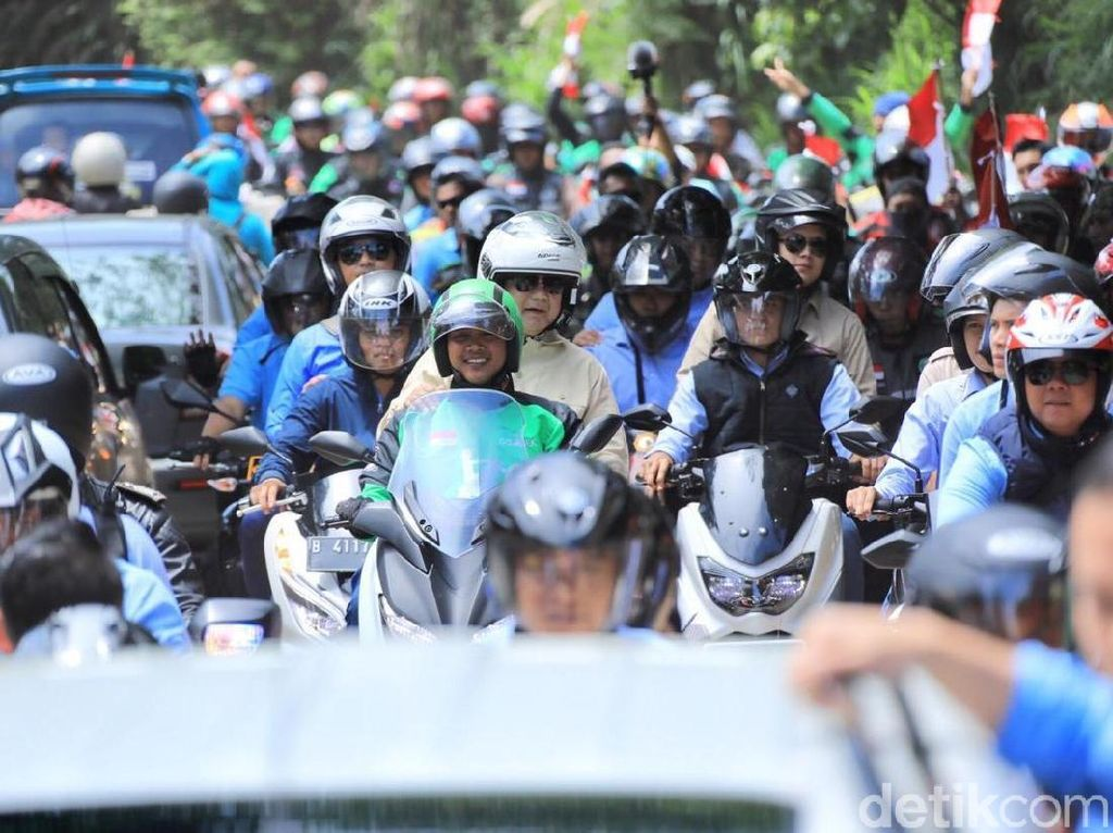 Narik Pakai XMAX Bukan Penghasilan Utama Driver Ojol