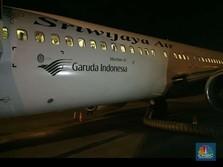 Pesawat Sriwijaya Air Kini Pakai Logo Garuda Indonesia