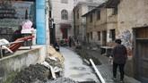 Proyek bertajuk Pariwisata Merah yang digagas mantan Kepala Partai Komunis disebut menelan biaya hingga 300 juta yuan. Namun, proyek ini belum berhasil membalikkan modal pemerintah daerah Rucheng. (REUTERS/Shu Zhang).