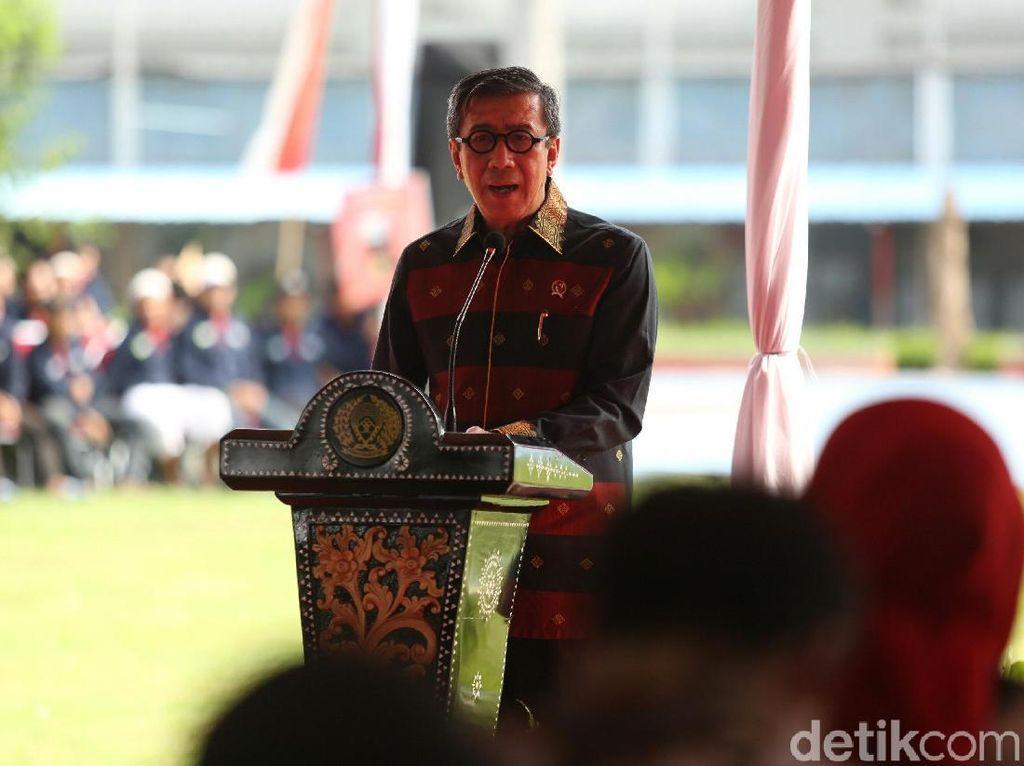 Menkum-HAM: Sekitar 1.400 Tahanan Lapas di Indonesia Mengidap HIV