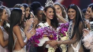FOTO: Detik-detik Perjuangan Catriona Gray Jadi Miss Universe