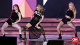 Usai membawakan 'Mystery', anggota andalan SNSD ini juga membawakan single solonya yang bertajuk 'Wannabe'. (CNN Indonesia/Andry Novelino)