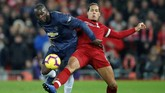 Manchester United datang ke markas Liverpool yang tengah dalam kondisi bagus. Sebaliknya Manchester United masih labil. (Reuters/Carl Recine)
