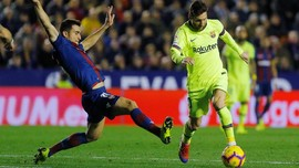 Klasemen Liga Spanyol Pekan 16, Barcelona Tetap Teratas