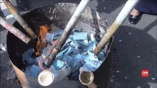 VIDEO: Pemusnahan Belasan Ribu e-KTP di Sulbar