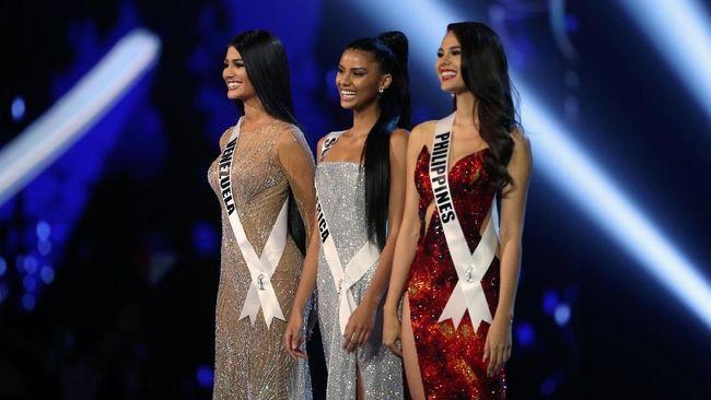 Afsel, Filipina, dan Venezuela Masuk Top 3 Miss Universe 2018
