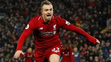 Supersub Shaqiri Bawa Liverpool Kalahkan Man United 3-1