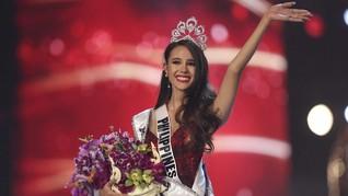Catriona Gray, Miss Universe 2018 dan Mimpi Gaun Merah