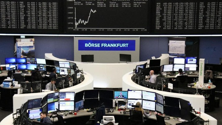Bursa Eropa Melemah di Awal Perdagangan