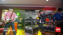 Music at Newsroom: The Upstairs - 'Dansa Akhir Pekan'