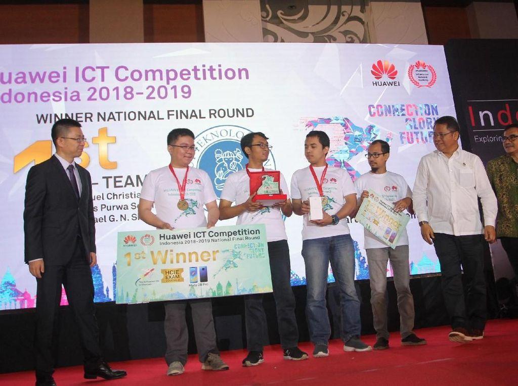 Acara bergengsi kompetisi ICT global itu nantinya bakal diikuti oleh ratusan peserta dari 62 negara di seluruh dunia. Indonesia diwakili oleh sang jawara tim dari mahasiswa ITB. Foto: dok. Huawei