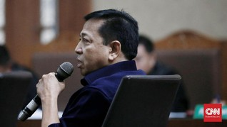 Setya Novanto Disebut Sering Salat Usai Pindah Tahanan