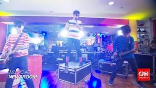Music at Newsroom: The Upstairs - 'Terekam Tak Pernah Mati'