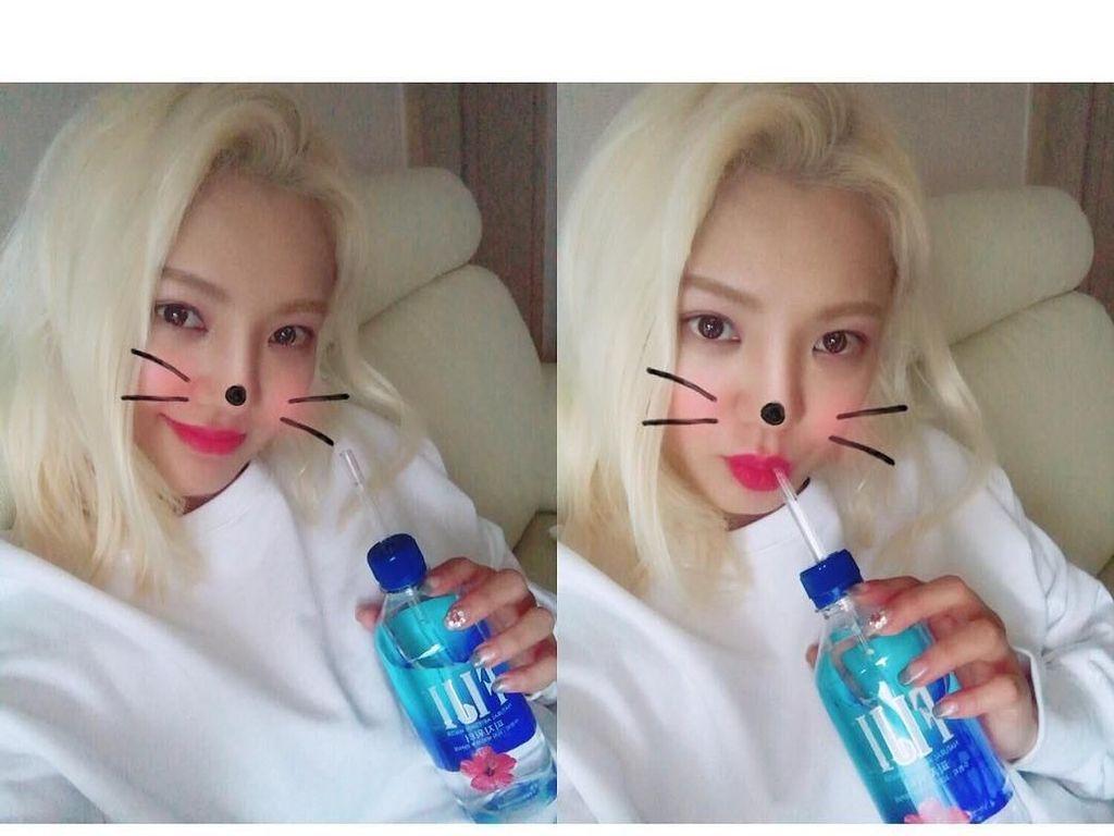 Selain Jago Nyanyi, Kim Hyo-yeon Juga Jago Urusan Makan