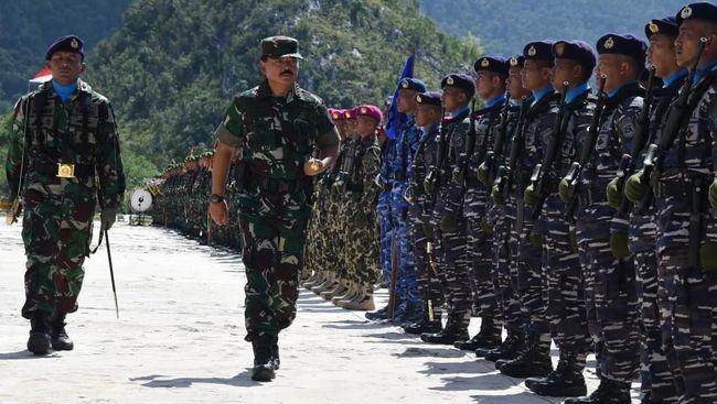 DPR Usul Gaji TNI Naik, Sri Mulyani 'Pikir-pikir'