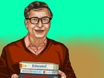 Jadi Secret Santa, Mau Tahu Isi Kado Natal dari Bill Gates?