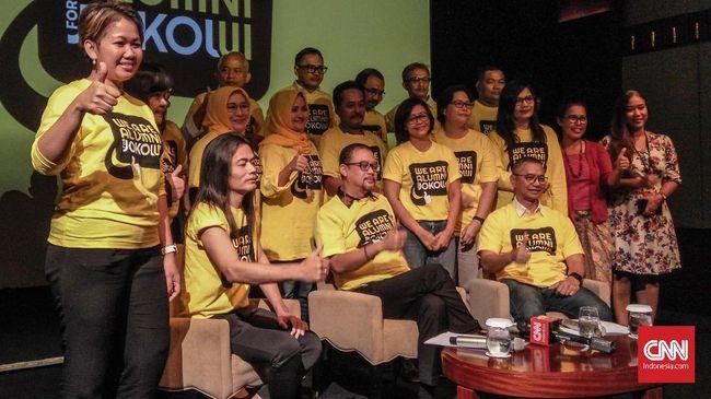 Alumni UI dan Buruh Deklarasi Dukung Jokowi-Ma'ruf di Januari