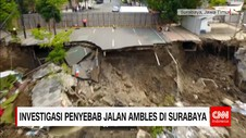 Investigasi Penyebab Jalan Ambles di Surabaya