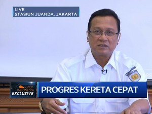 Ini kata Dirut PT KAI soal Kereta Cepat Jakarta - Bandung