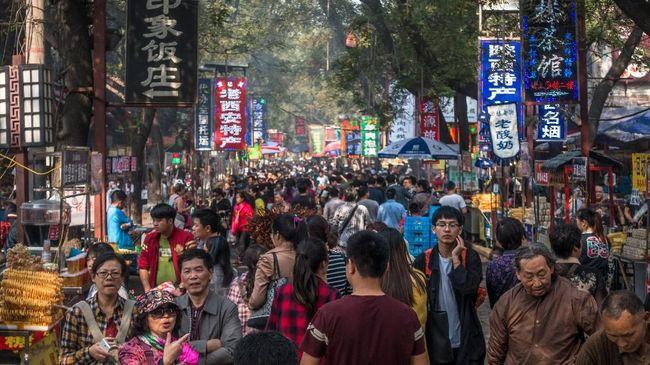 Pertumbuhan Ekonomi China Melambat ke 6,4 Persen