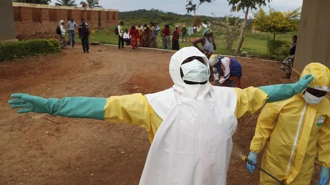 Virus ebola terus membuat warga Kongo khawatir. Sebanyak 319 warga dilaporkan meninggal akibat terserang virus mematikan tersebut. (REUTERS/Goran Tomasevic)